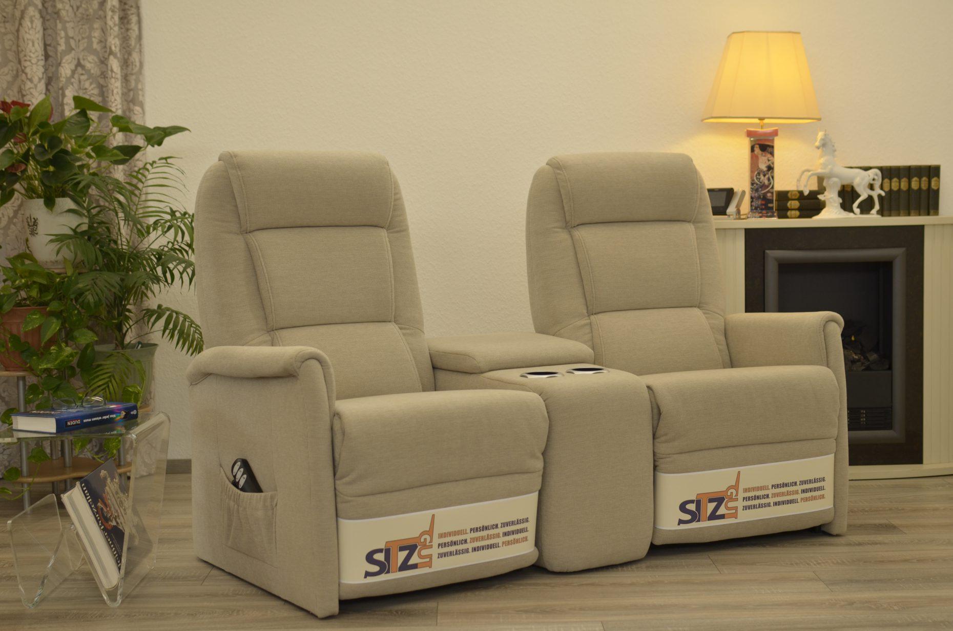 Doppelsessel Mit Elektrischer Aufstehfunktion Sesselstudio Sitzgut